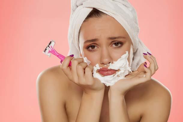 女なのに毛深い悩みは、体質を改善すれば解決できるかも!?のサムネイル画像
